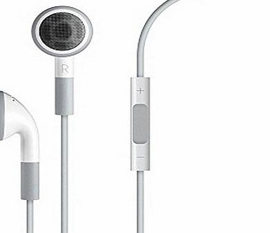 Apple OEM Original [MB770G] Earphones Stereo Headset with Mic and Remote for iPhone 4 / 4G / 4GS / 3G / 3GS / iPod Touch / Classic / Nano (Non-Retail Packaging)
